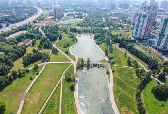 Парк Олимпийской деревни - Фото №1