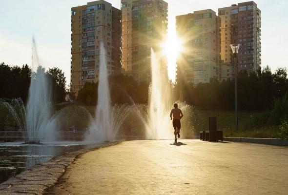 Парк Олимпийской деревни - Фото №6