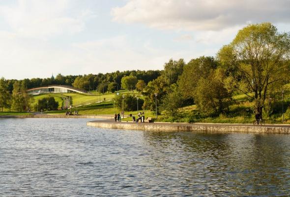 Парк Олимпийской деревни - Фото №3