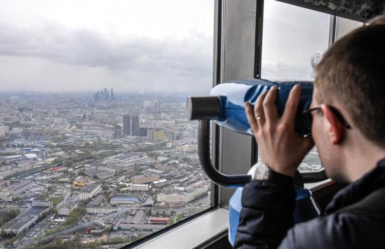 На 85 этаже Останкинской башни открылась обзорная площадка
