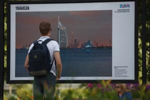 В парке Горького открылась фотовыставка под открытым небом  «Дубай: Опережая Время»