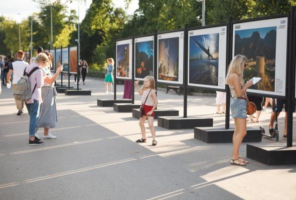 В парке Горького открылась фотовыставка под открытым небом  «Дубай: Опережая Время» - Фото №9