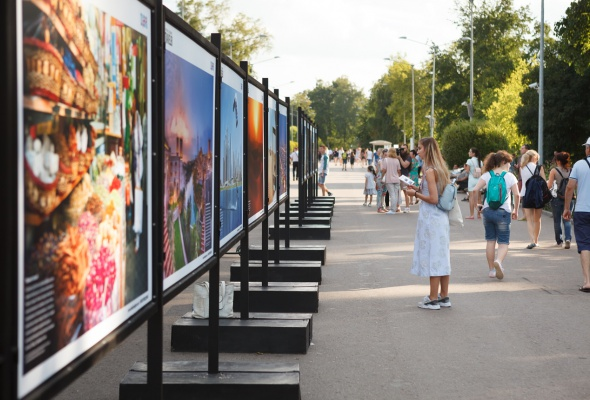 В парке Горького открылась фотовыставка под открытым небом  «Дубай: Опережая Время» - Фото №8