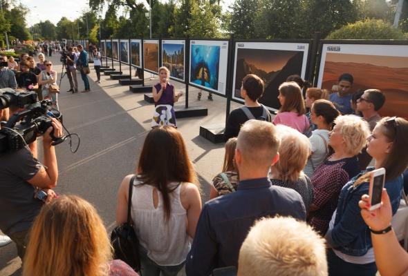 В парке Горького открылась фотовыставка под открытым небом  «Дубай: Опережая Время» - Фото №7