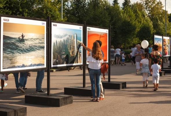 В парке Горького открылась фотовыставка под открытым небом  «Дубай: Опережая Время» - Фото №6