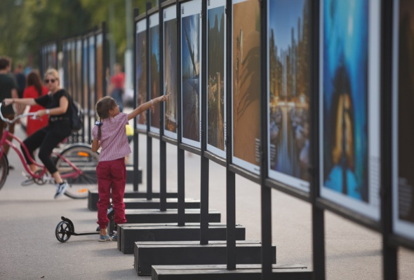 В парке Горького открылась фотовыставка под открытым небом  «Дубай: Опережая Время» - Фото №5