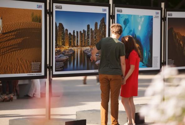 В парке Горького открылась фотовыставка под открытым небом  «Дубай: Опережая Время» - Фото №4