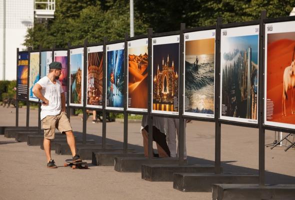 В парке Горького открылась фотовыставка под открытым небом  «Дубай: Опережая Время» - Фото №2