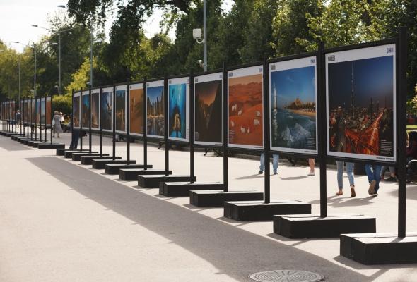 В парке Горького открылась фотовыставка под открытым небом  «Дубай: Опережая Время» - Фото №1