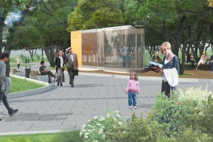 В Ильинском парке появится лекторий под открытым небом