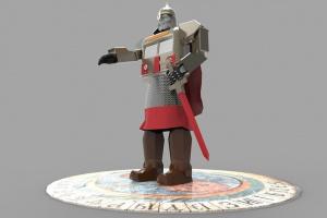 На фестивале фейерверков в Москве установят гигантского робота «Юрий Долгорукий»