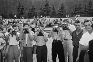 Москва 1957 в фотографиях Леонара Джанадды