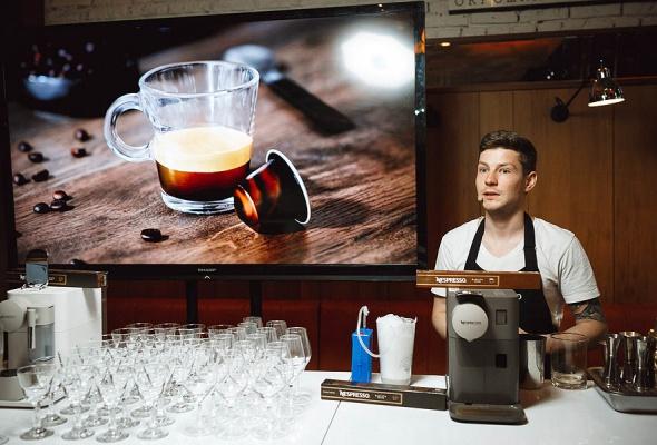 Бренд Nespresso представил кофемашину Lattissima One и лимитированные бленды Barista Choice в гастропабе «Техникум» - Фото №0