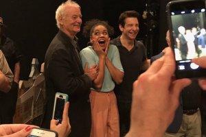 Билл Мюррей смотрел мюзикл «День сурка» на Бродвее два дня подряд