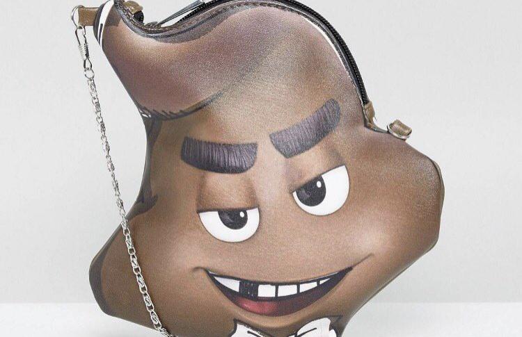 Asos выпустил сумку в виде эмодзи 💩