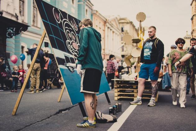 Петербург встретил традиционный фестиваль «Живые улицы»