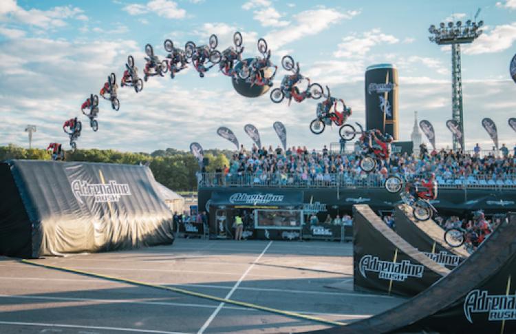 Юбилей легендарного шоу:  Adrenaline Rush FMX отметит свое десятилетие