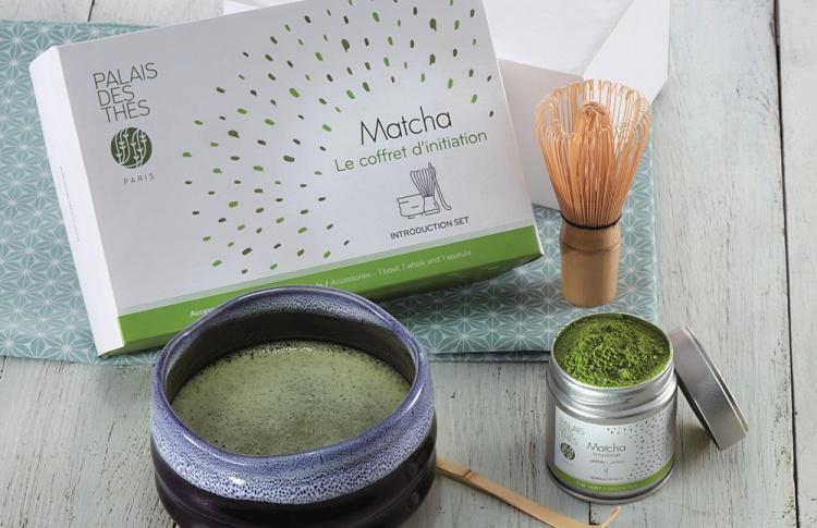 Вкусный источник энергии от Palais des Thes – чай Матча