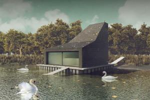 Парк Горького построит домик для лебедей за 4,2 млн рублей