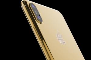 Лондонский магазин открыл предзаказ на золотой iPhone 8