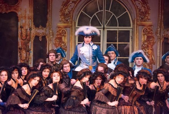 Опера «Царица» в «Геликон-опере» - Фото №4