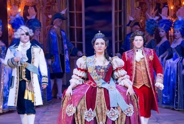 Опера «Царица» в «Геликон-опере» - Фото №1