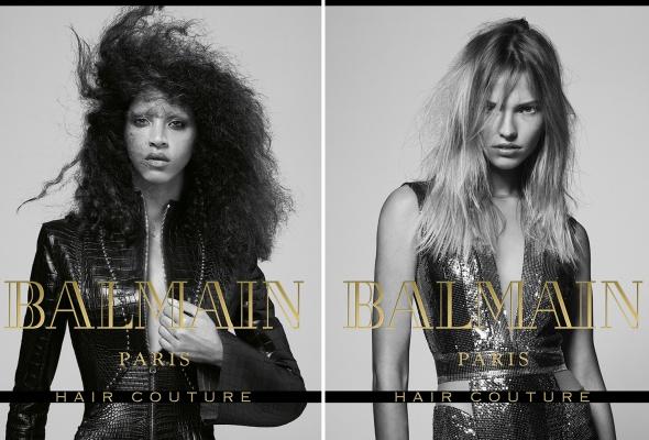 Впервые в России: запуск Balmain Hair Couture - Фото №1