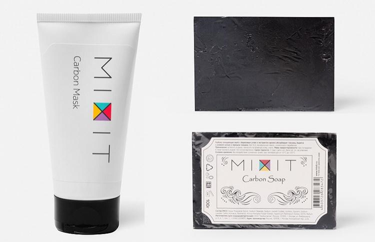MIXIТ представляет серию Carbon по борьбе против черных точек