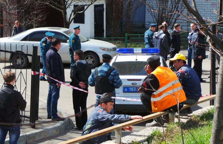 В Москве и Петербурге эвакуируют школы и торговые центры