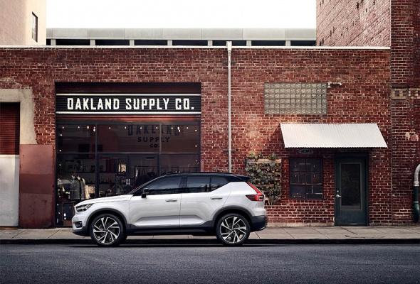 Новый XC40 расширяет линейку Volvo в быстрорастущем сегменте премиальных кроссоверов - Фото №0