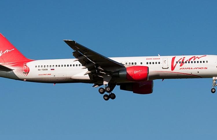 «ВИМ-Авиа» прекратила чартерные рейсы