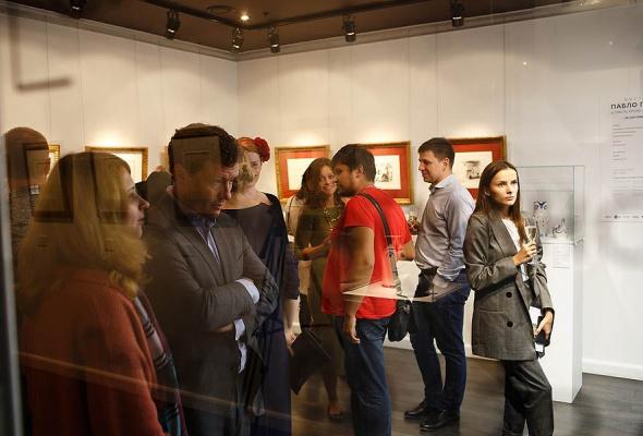 Выставка Пабло Пикассо открылась в Altmans Gallery - Фото №4