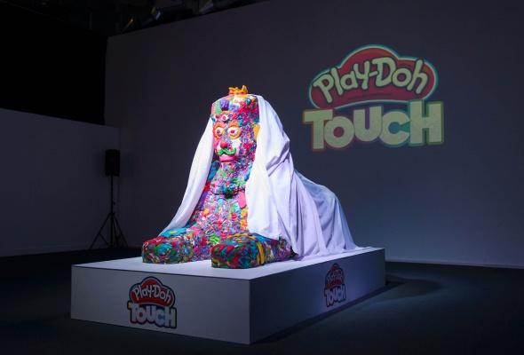 Разноцветный Сфинкс из Play-Doh и другие digital-инсталляции, созданные детьми - Фото №4