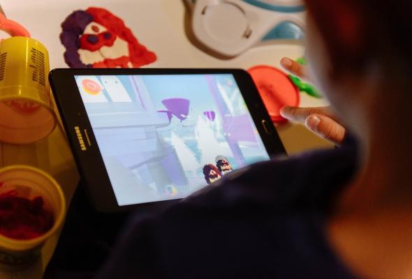 Разноцветный Сфинкс из Play-Doh и другие digital-инсталляции, созданные детьми - Фото №5