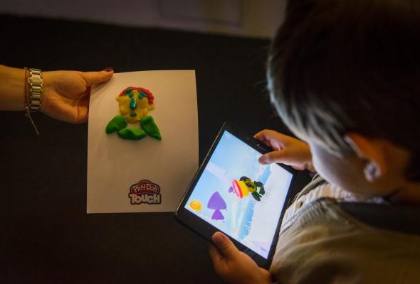 Разноцветный Сфинкс из Play-Doh и другие digital-инсталляции, созданные детьми - Фото №3