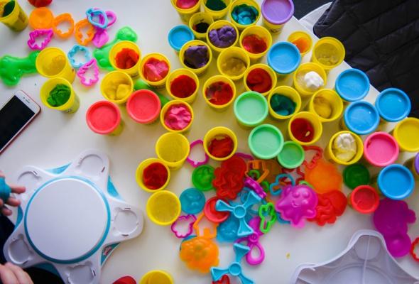 Разноцветный Сфинкс из Play-Doh и другие digital-инсталляции, созданные детьми - Фото №6