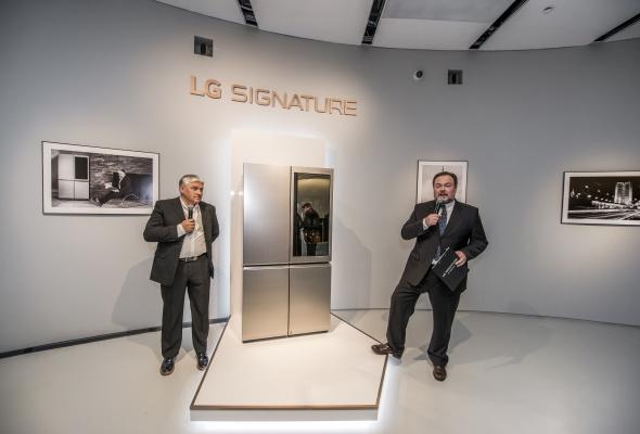 Ультра премиальный бренд LG SIGNATURE представлен в России - Фото №1