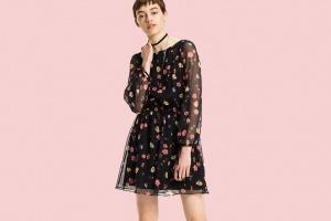 7 красивых платьев с длинным рукавом на осень