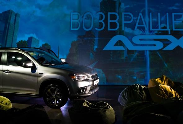 Презентация нового Mitsubishi ASХ - Фото №2