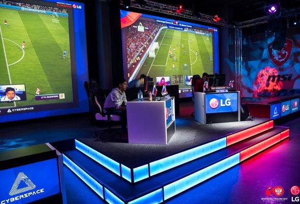 Компания LG выступила главным техническим партнёром финала Чемпионата России 2017 по киберфутболу  - Фото №0