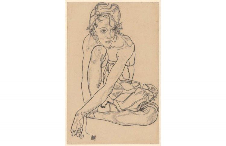 Густав Климт. Эгон Шиле. Рисунки из музея Альбертина
