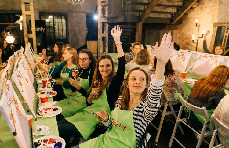 Painty-вечеринки — новое развлечение в московских ресторанах