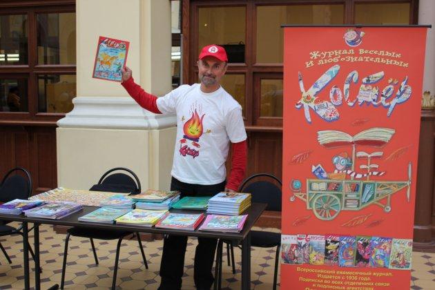 Николай Харлампиев: чтение во многом зависит от «закваски», «родительских генов»