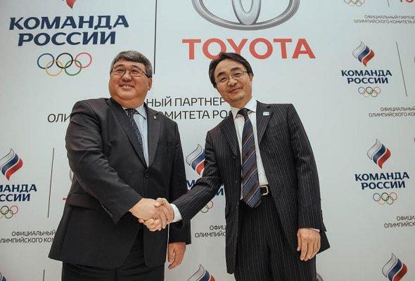 Тойота и Олимпийский Комитет России объявили о начале партнерства - Фото №5