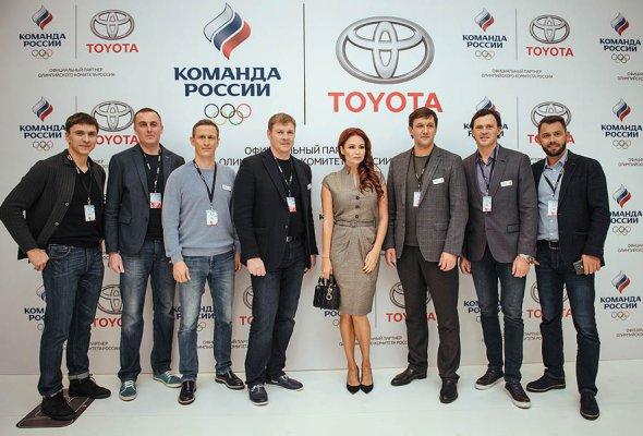 Тойота и Олимпийский Комитет России объявили о начале партнерства - Фото №0