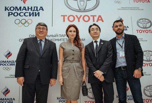 Тойота и Олимпийский Комитет России объявили о начале партнерства - Фото №4