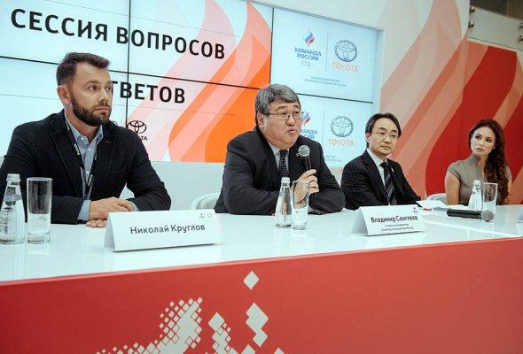 Тойота и Олимпийский Комитет России объявили о начале партнерства - Фото №2