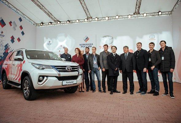 Тойота и Олимпийский Комитет России объявили о начале партнерства - Фото №1