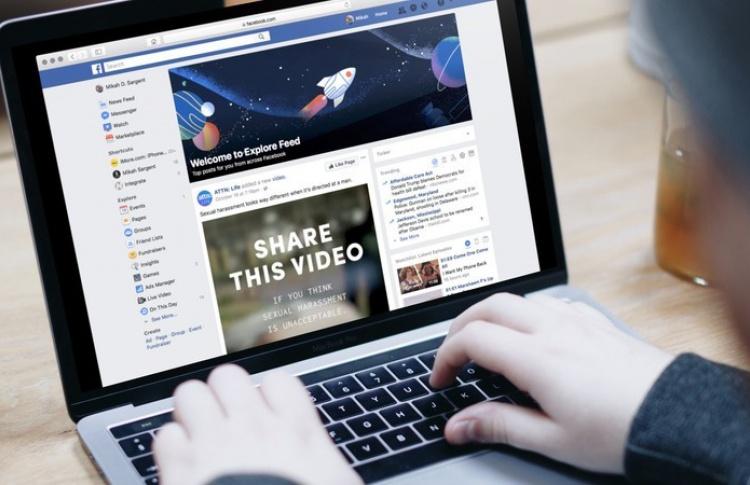 В Facebook появится отдельная лента новостей с рекомендациями