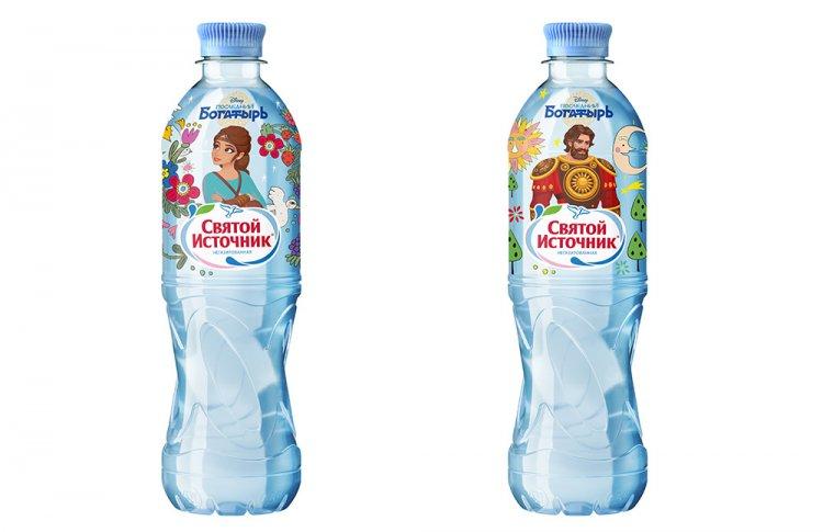 «Святой Источник» выпустил воду с героями фильма «Последний богатырь» на этикетке